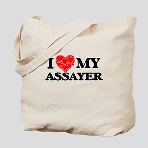 I Love my Assayer Tote Bag