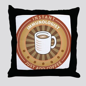 Instant Immunologist Throw Pillow