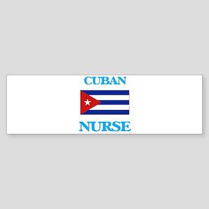Cuban Nurse Bumper Sticker