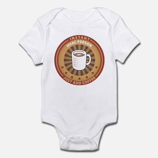 Instant HVAC Person Infant Bodysuit