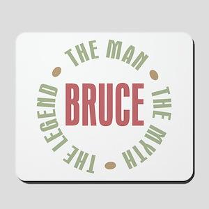 Bruce Man Myth Legend Mousepad