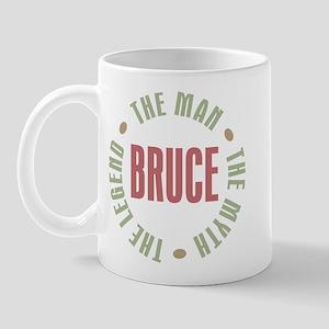 Bruce Man Myth Legend Mug