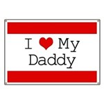 I Heart My Daddy Banner