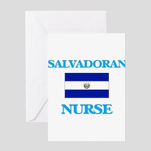 Salvadoran Nurse Greeting Cards