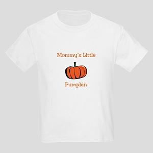Mommy's Little Pumpkin Kids Light T-Shirt
