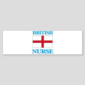 British Nurse Bumper Sticker