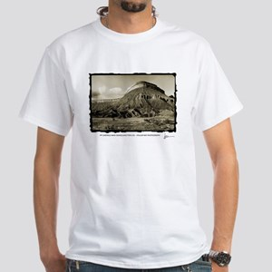 Mt Garfield, Near Grand Junction, Colorado White T