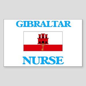 Gibraltar Nurse Sticker