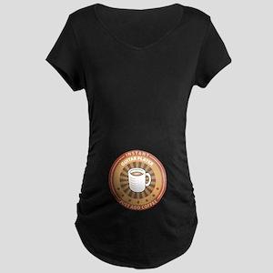 Instant Guitar Player Maternity Dark T-Shirt