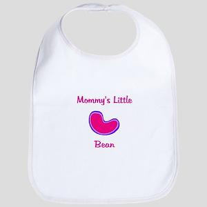 Mommy's Little Bean Girl Bib