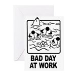 Bad Day at Work Greeting Cards (Pk of 10)