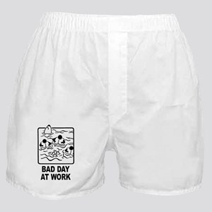 Bad Day at Work Boxer Shorts