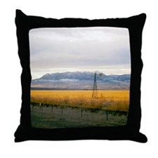 Montana Field Throw Pillow