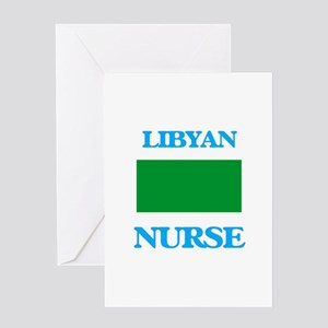 Libyan Nurse Greeting Cards