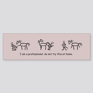 I am a Professional: Farrier / Bumper Sticker