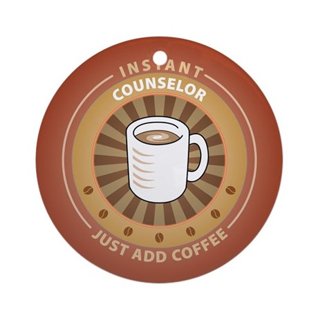 Instant Counselor Ornament (Round)