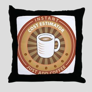 Instant Cost Estimator Throw Pillow