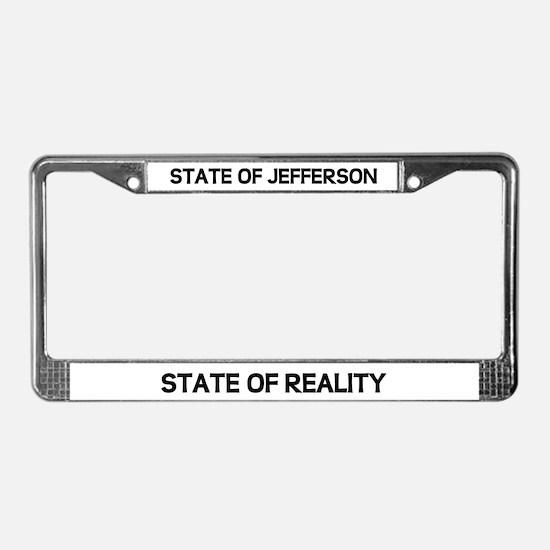 Unique North california License Plate Frame