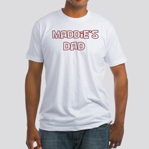Maddies dad Fitted T-Shirt