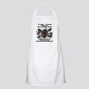 Chocolate Cockroaches BBQ Apron