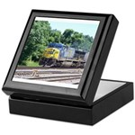 CSX Q190 Doublestack Train Keepsake Box