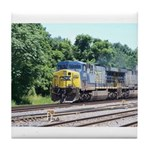 CSX Q190 Doublestack Train Tile Coaster