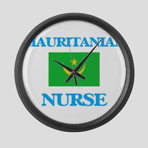 Mauritanian Nurse Large Wall Clock