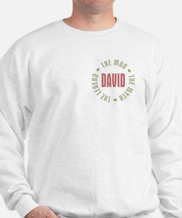 David Man Myth Legend Sweatshirt