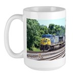 CSX Q190 Doublestack Train Large Mug
