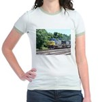 CSX Q190 Doublestack Train Jr. Ringer T-Shirt