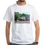 CSX Q190 Doublestack Train White T-Shirt