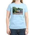 CSX Q190 Doublestack Train Women's Pink T-Shirt