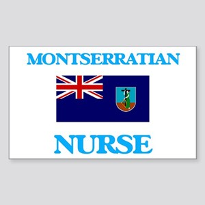 Montserratian Nurse Sticker