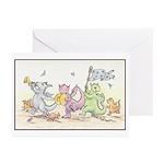 Dragon Parade Greeting Cards (Pk of 10)