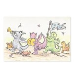 Dragon Parade Postcards (Package of 8)