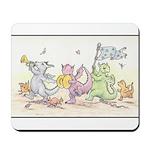 Dragon Parade Mousepad