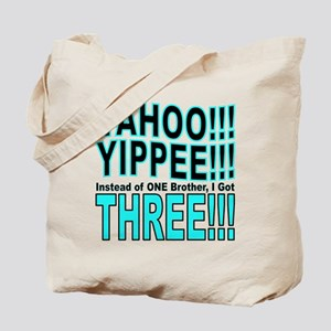 Yippee Triplets - Brothers Tote Bag