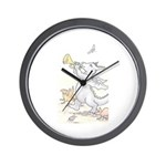 Dragon Parade Wall Clock