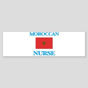 Moroccan Nurse Bumper Sticker