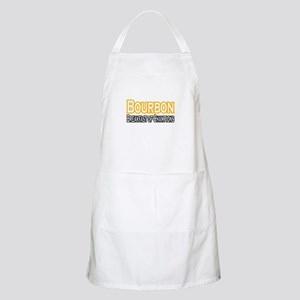 """Bourbon. Breakfast..."" BBQ Apron"