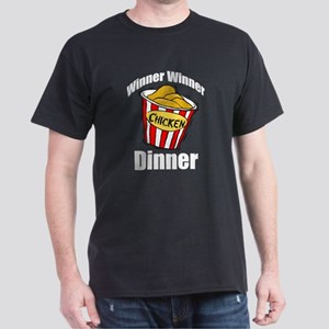Winner Winner Chicken Dark T-Shirt