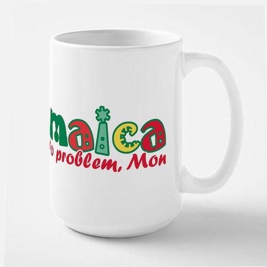 Jamaica No Problem Large Mug