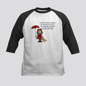 Dance In The Rain Kids Baseball Jersey