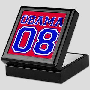 Obama 08 Red Keepsake Box