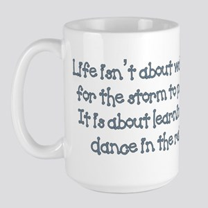 Dance In The Rain Large Mug