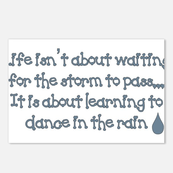 Dance In The Rain Postcards (Package of 8)