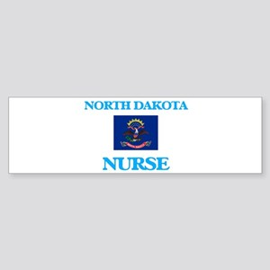 North Dakota Nurse Bumper Sticker