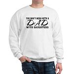 Dad with Daughters Sweatshirt