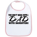 Dad with Daughters Bib