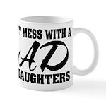 Dad with Daughters Mug
